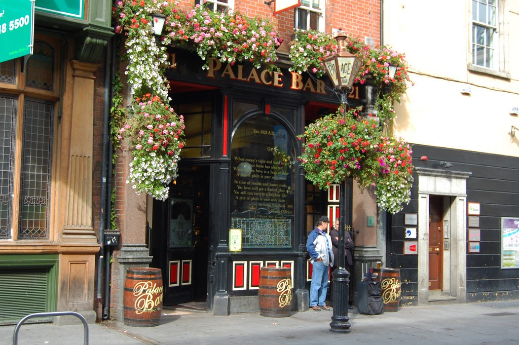 The Palace Bar, Dublin © fisherbray/Flickr