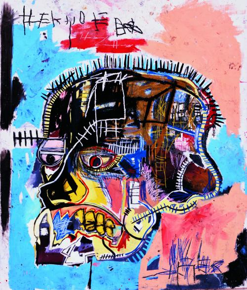 Jean-Michel Basquiat, Untitled, 1981, acrylic and oilstick on canvas, 81 x 69 1/4 in., © The Estate of Jean-Michel Basquiat / ADAGP, Paris / ARS New York 2015, Photo by Douglas M. Parker Studio, L.A.