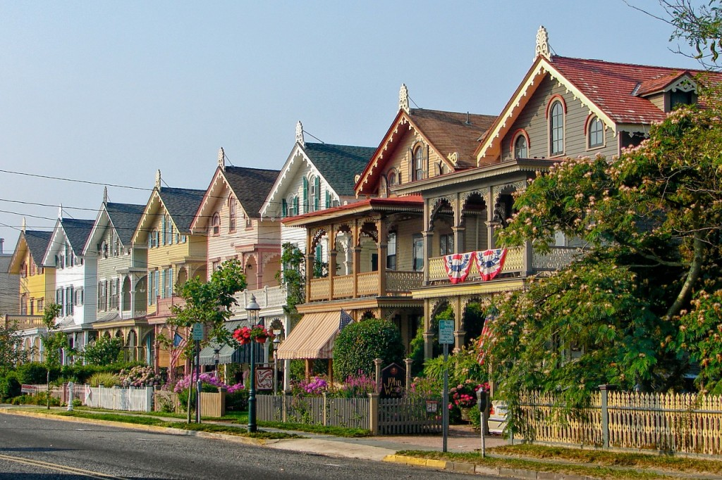 picturesque city homes and gardens. Cape May The 10 Most Beautiful Towns in New Jersey  USA