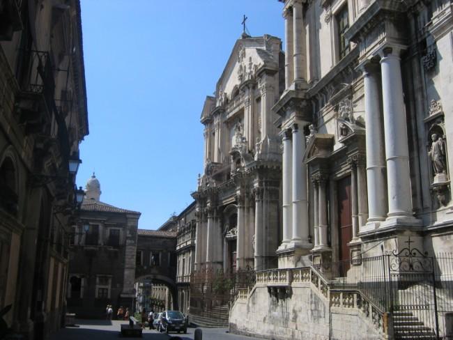 Catane Via Crociferi | © Urban~commonswiki/WikiCommons