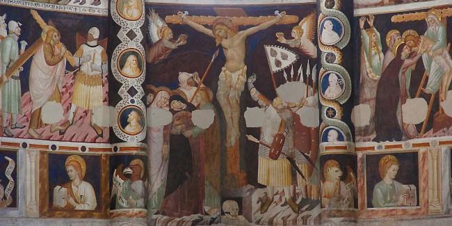 A Fresco at the Basilica di Sant'Abbondio | © Mattana/WikiCommons