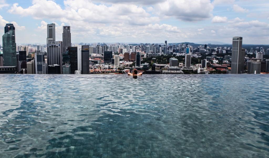Marina Bay Sands Infinity Pool © Shayne Fergusson