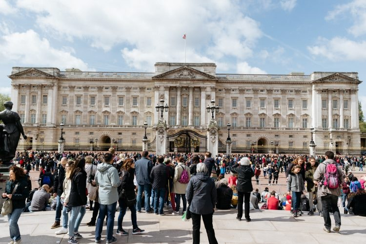 The Changing of the Guard, officially known as the Guard Mounting, is popular with tourists