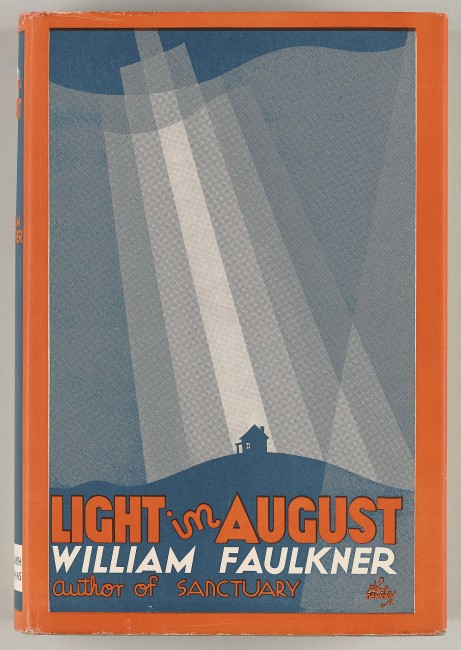 Faulkner, William, 1897-1962. Light in August / [New York] : Harrison Smith & Robert Haas, [1932] PML 128136 front cover dust jacket