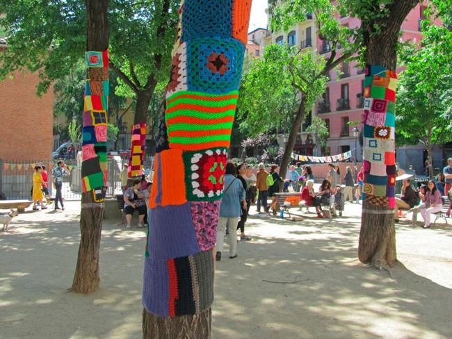 Plaza Dos de Mayo | © Tejiendo Malasaña /Flickr