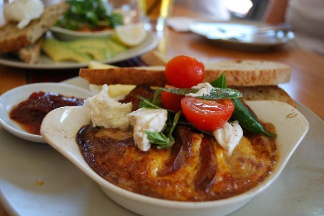 Potato and Chorizo Omelette | © Alpha/ Flickr