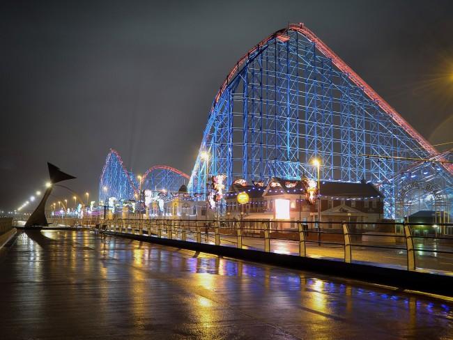 Rollercoaster in Blackpool |© Pixabay