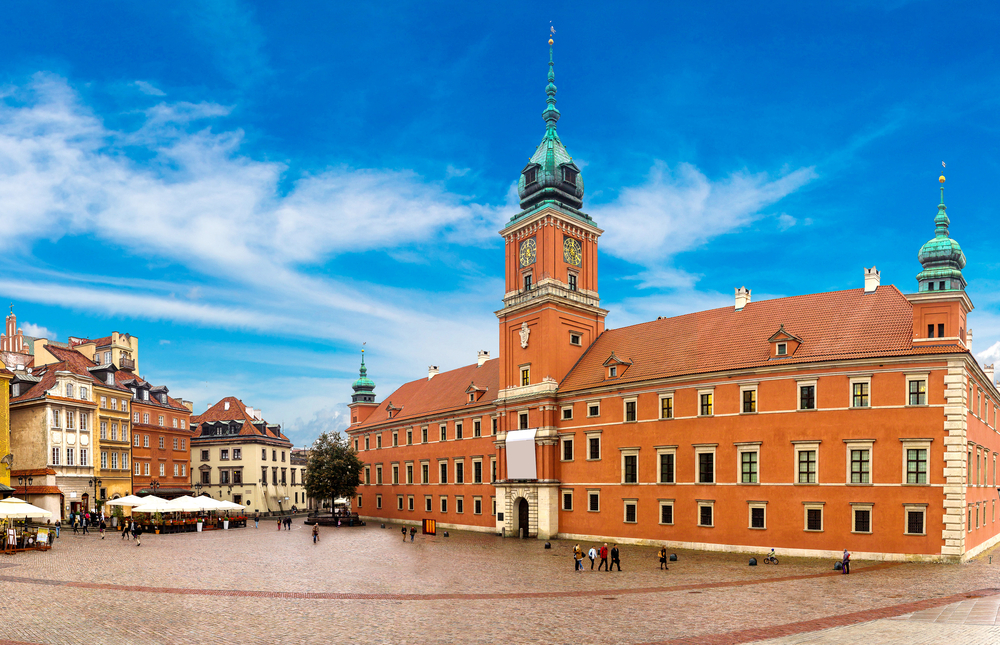 Royal Castle and Sigismund Column in Warsaw | © S-F/Shutterstock