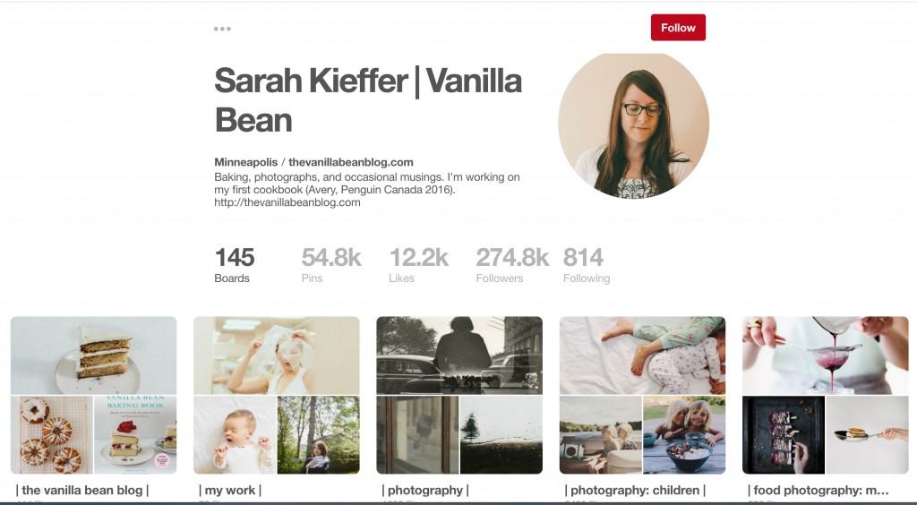 Sarah Kieffer | Vanilla Bean