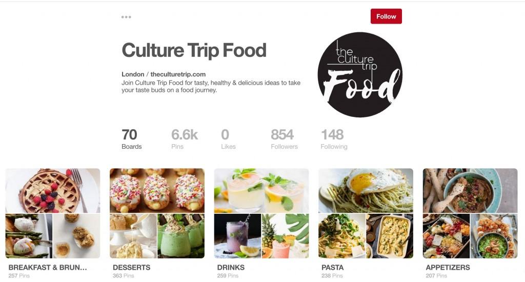 Culture Trip Food