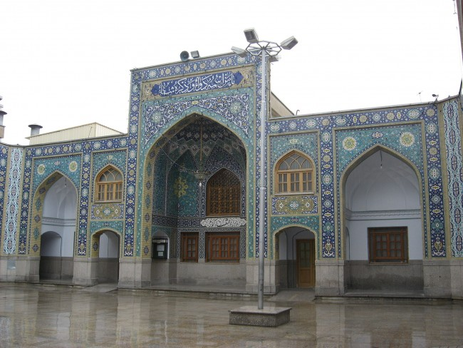 Shah Abdol Azim Shrine Courtyard | © Agha Nader/WikiCommons