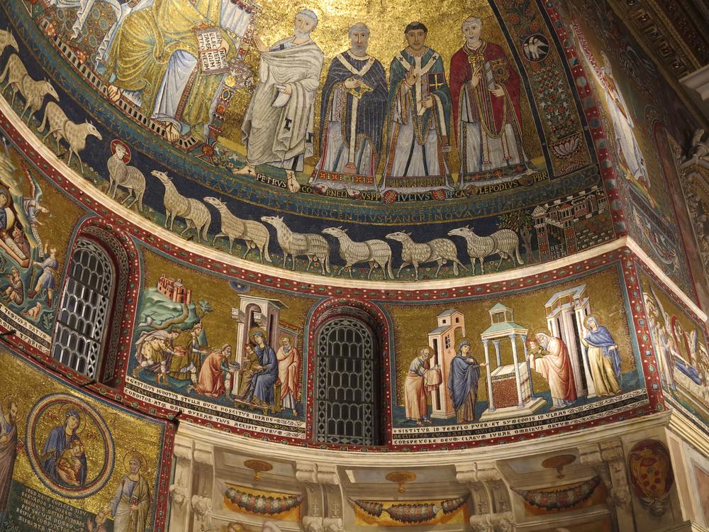 Basilica di Santa Maria in Trastevere |©Jorg Hackemann/Shutterstock