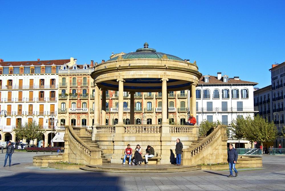Castle square in Pamplona, Spain | © Kike Fernandez/Shutterstock