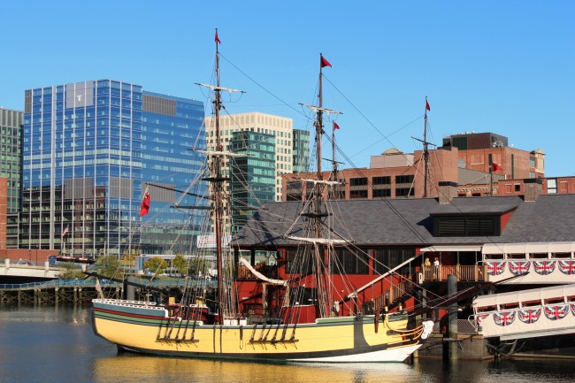 Boston Tea Party Ship & Museum| ©Robert Linsdell/Flickr