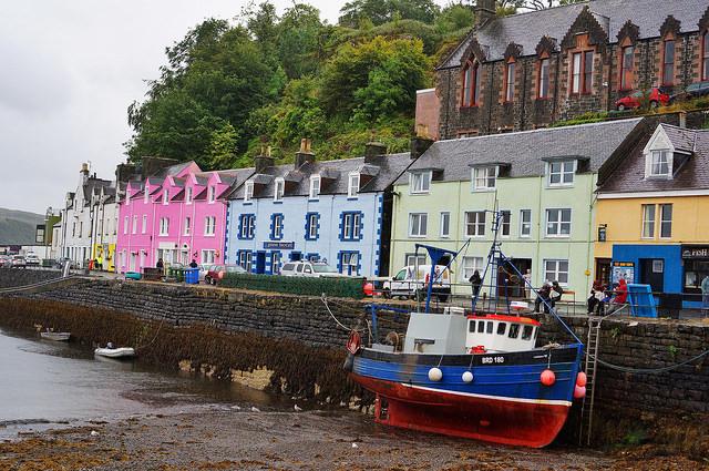 Portree Harbour  © Gitta Zahn/Flickr