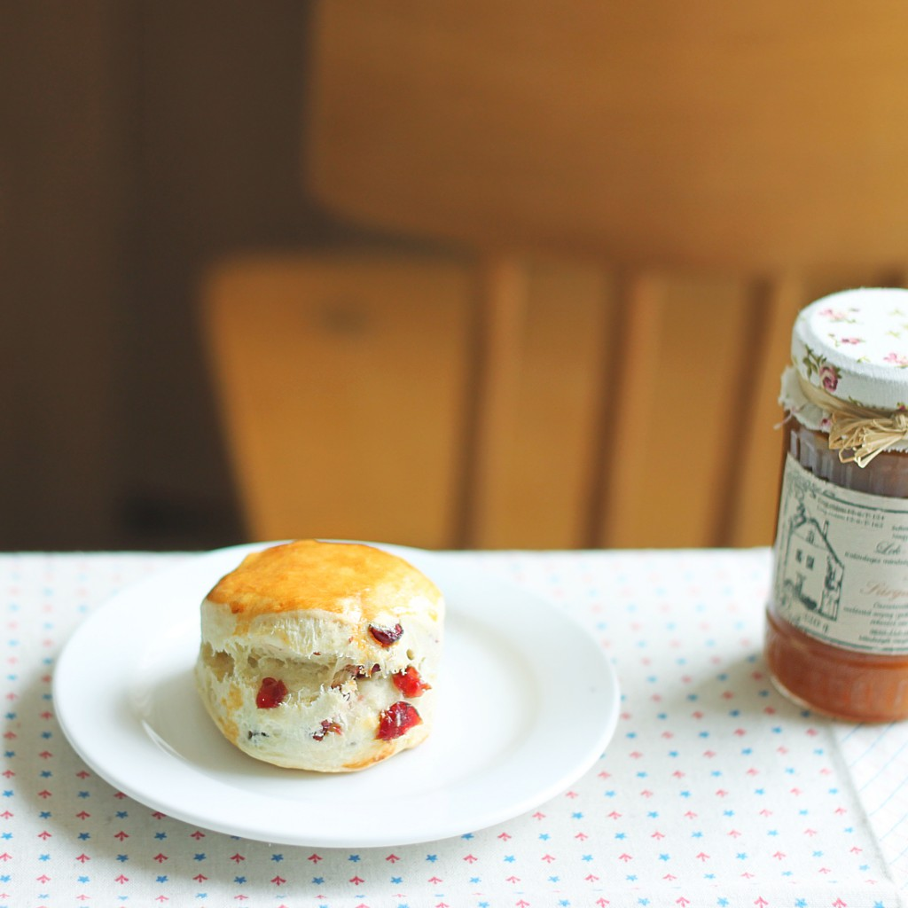 Cranberry Scone | ©Helen.Yang/Flickr