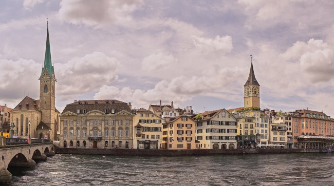 Painting of Zurich |©Pedro Szekely/Flickr