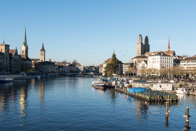 Zurich, Switzerland © George Pachantouris/ Flickr