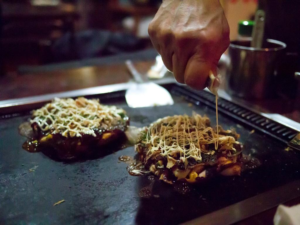 Okonomiyaki | ©Hajime Nagahata/Flickr