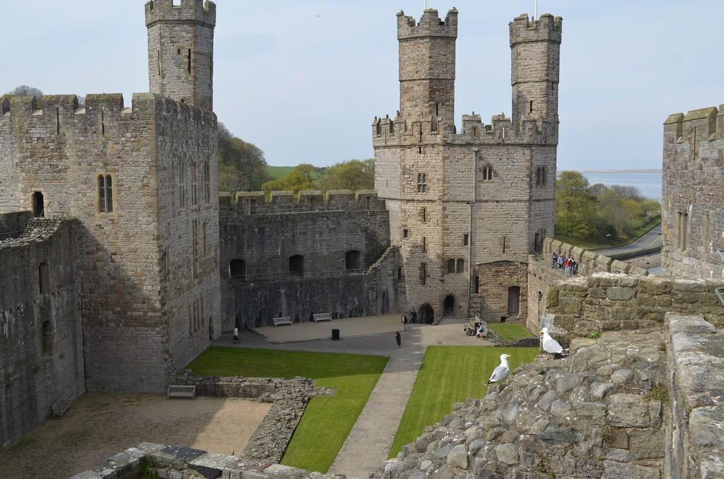 Caernarfon Castle, Wales © eGuide Travel/Flickr