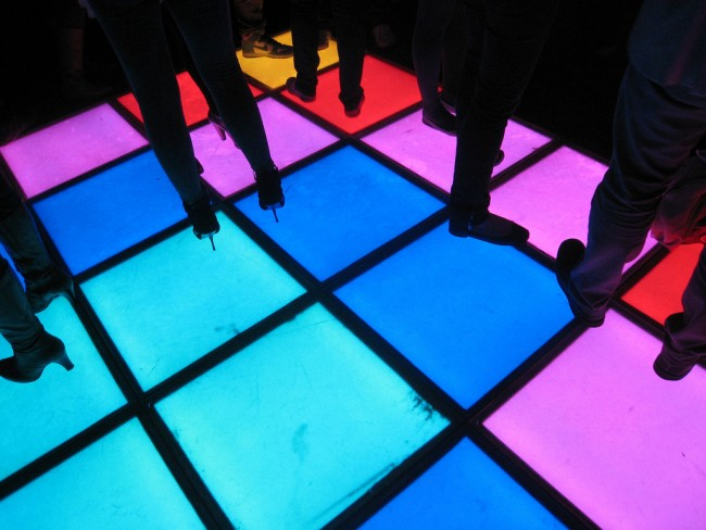 A Dancefloor | © Leigh Harries/Flickr