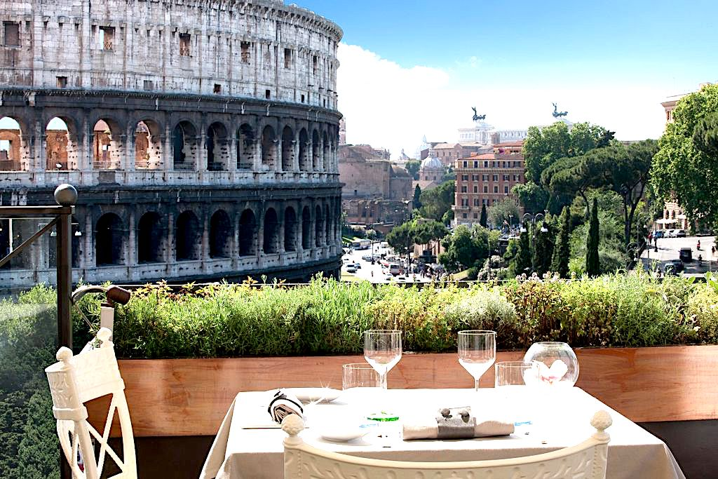 Panoramic Restaurants In Rome - The best places to eat in rome