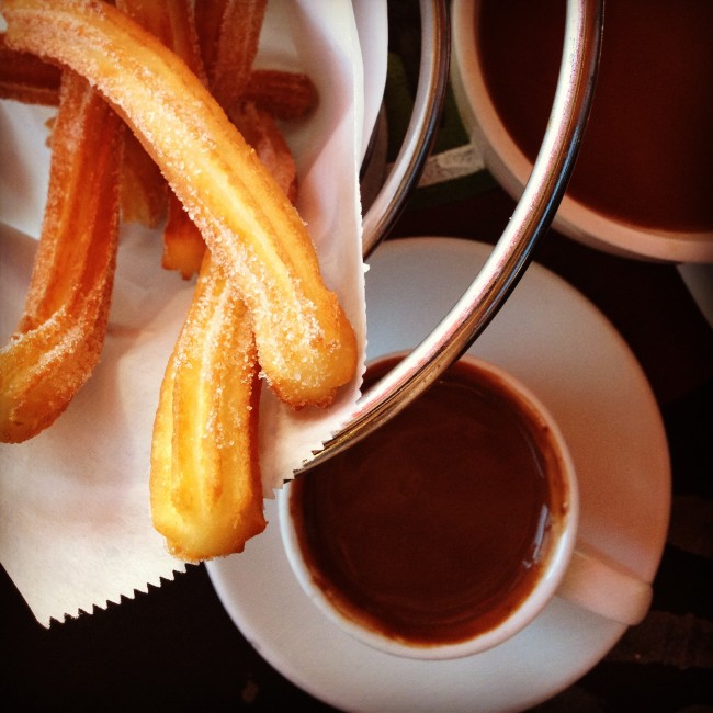Churros con chocolate | © woo_is_me/Flickr