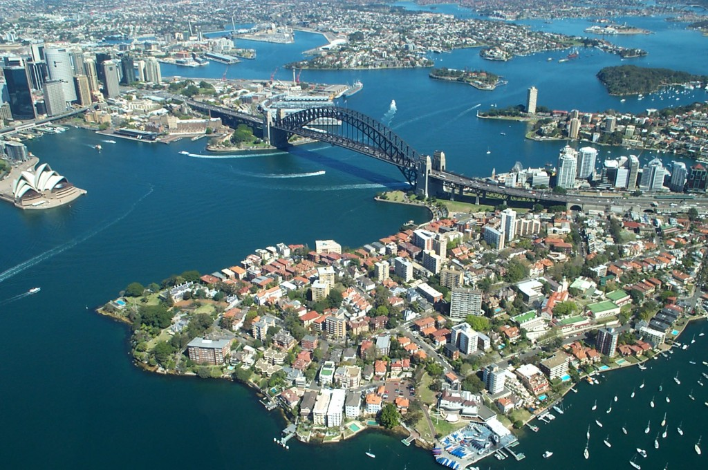 Sydney Harbour | ©  Duncan Hull/Flickr