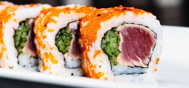 Food at Shinto Sky View | Courtesy of Shinto Sky View