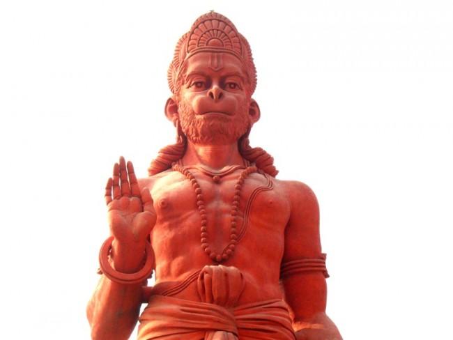 Hanuman the Monkey God   © Vipal/Flickr