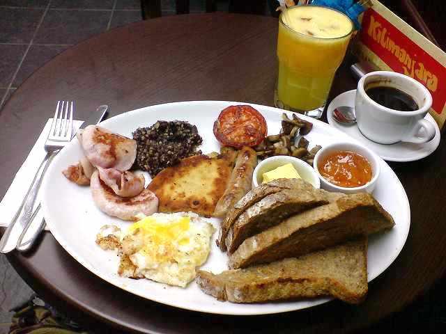 Perfect Breakfast? | © Mark Longair/Flickr