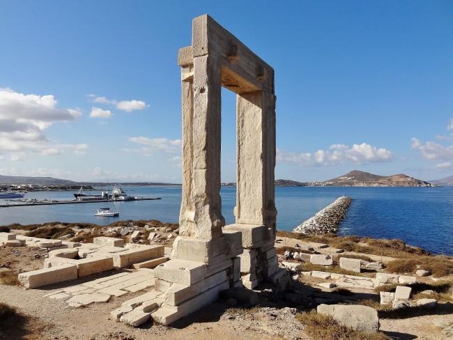 Portara Naxos | © Olaf Tausch/WikiCommons