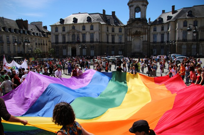 LGBT Rally in Rennes | © Julie Missbutterflies/Flickr