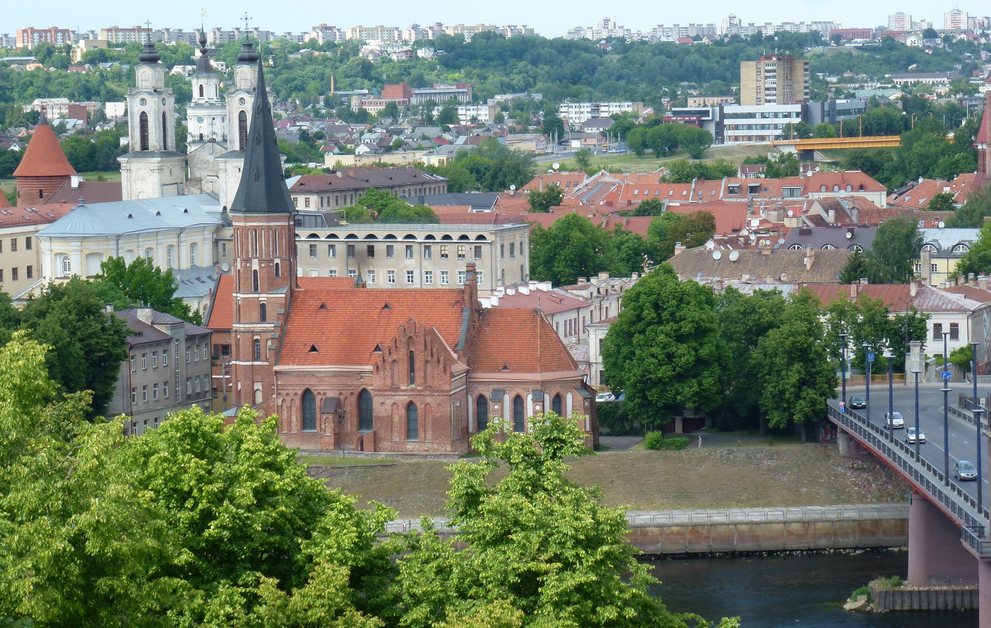 View of Vytautas the Great Church ©PIERRE ANDRE LECLERCQ/Wikimedia Commons