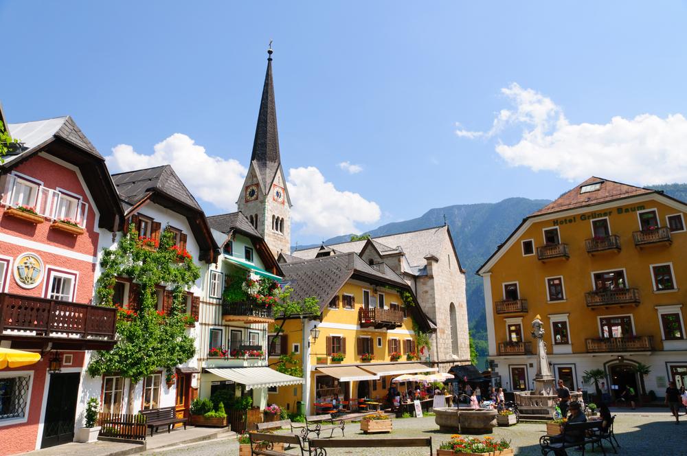 Market Square in Hallstatt, Austria | © Scirocco340/Shutterstock
