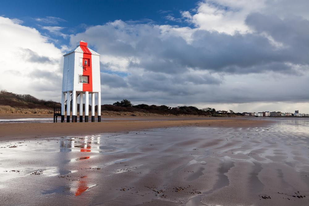The Low Lighthouse in Bridgewater Bay, England | © ian woolcock/Shutterstock