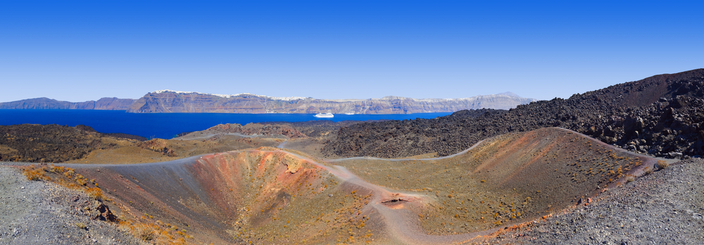 Santorini view from volcano © Tatiana Popova / Shutterstock
