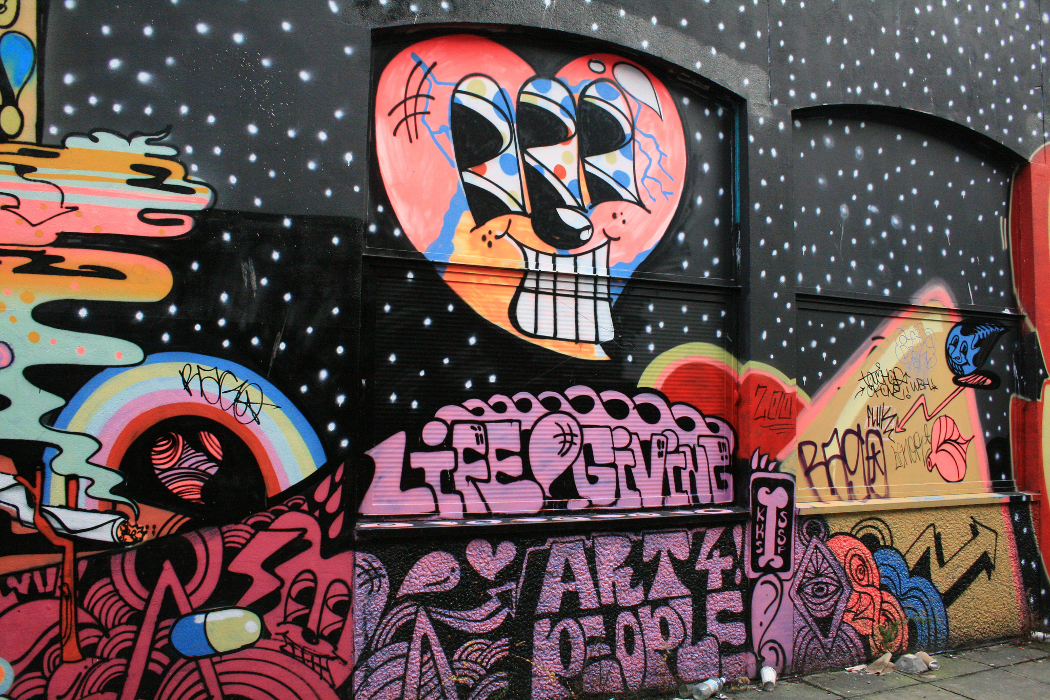 The best street art in bristol england