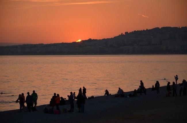 Sunset in Nice | © Cristiano Medeiros Dalbem/Flickr