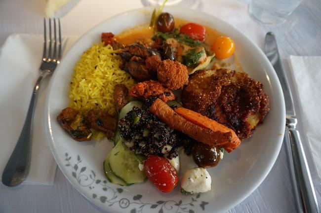 Veggie lunch from The Haus Hiltl  © Kristina D.C. Hoeppner/Flickr