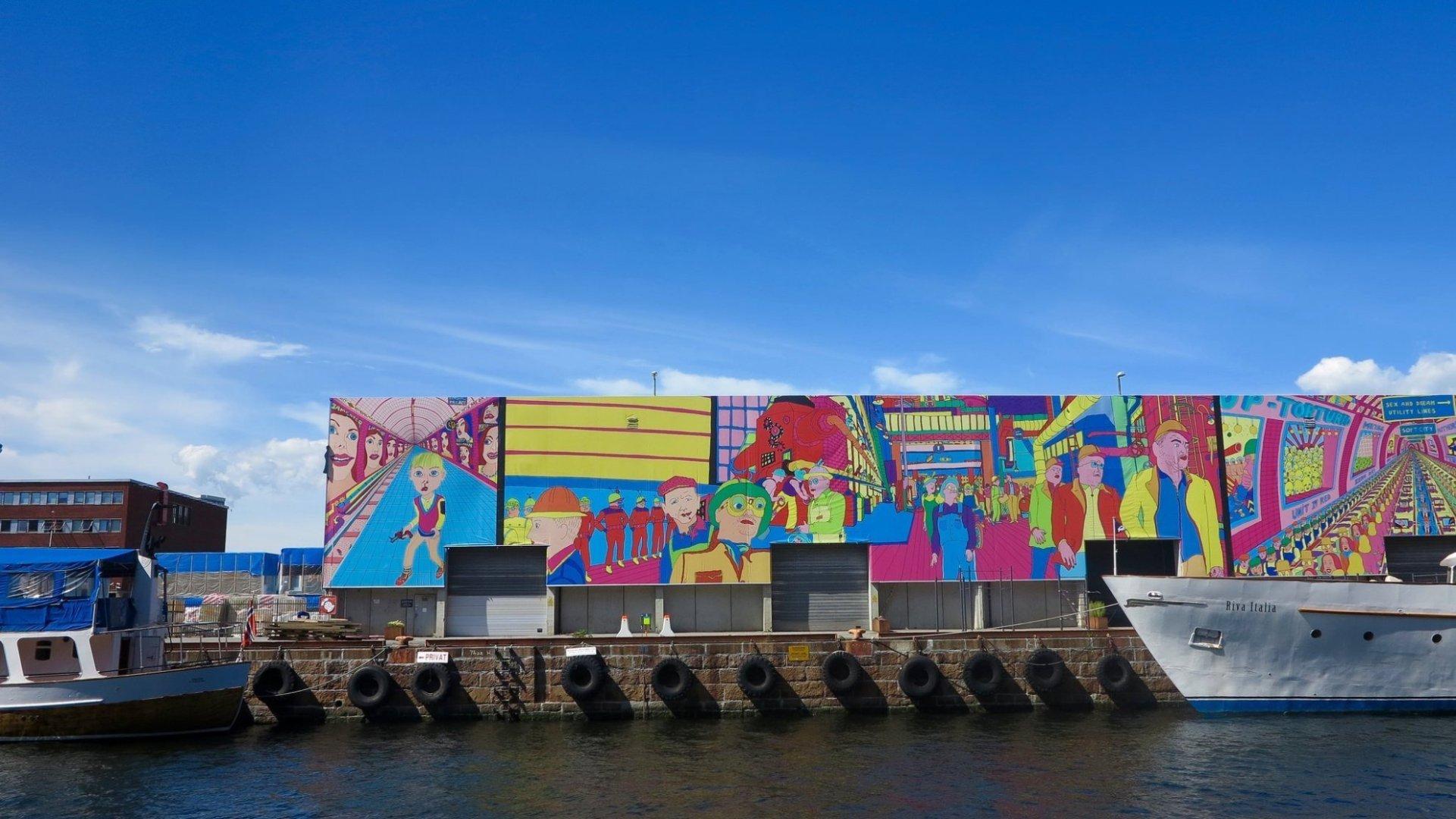 Street art mural   © @markheybo/Flickr
