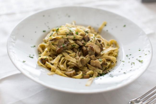 Pasta and Mushroom | © Silvinka/Flickr