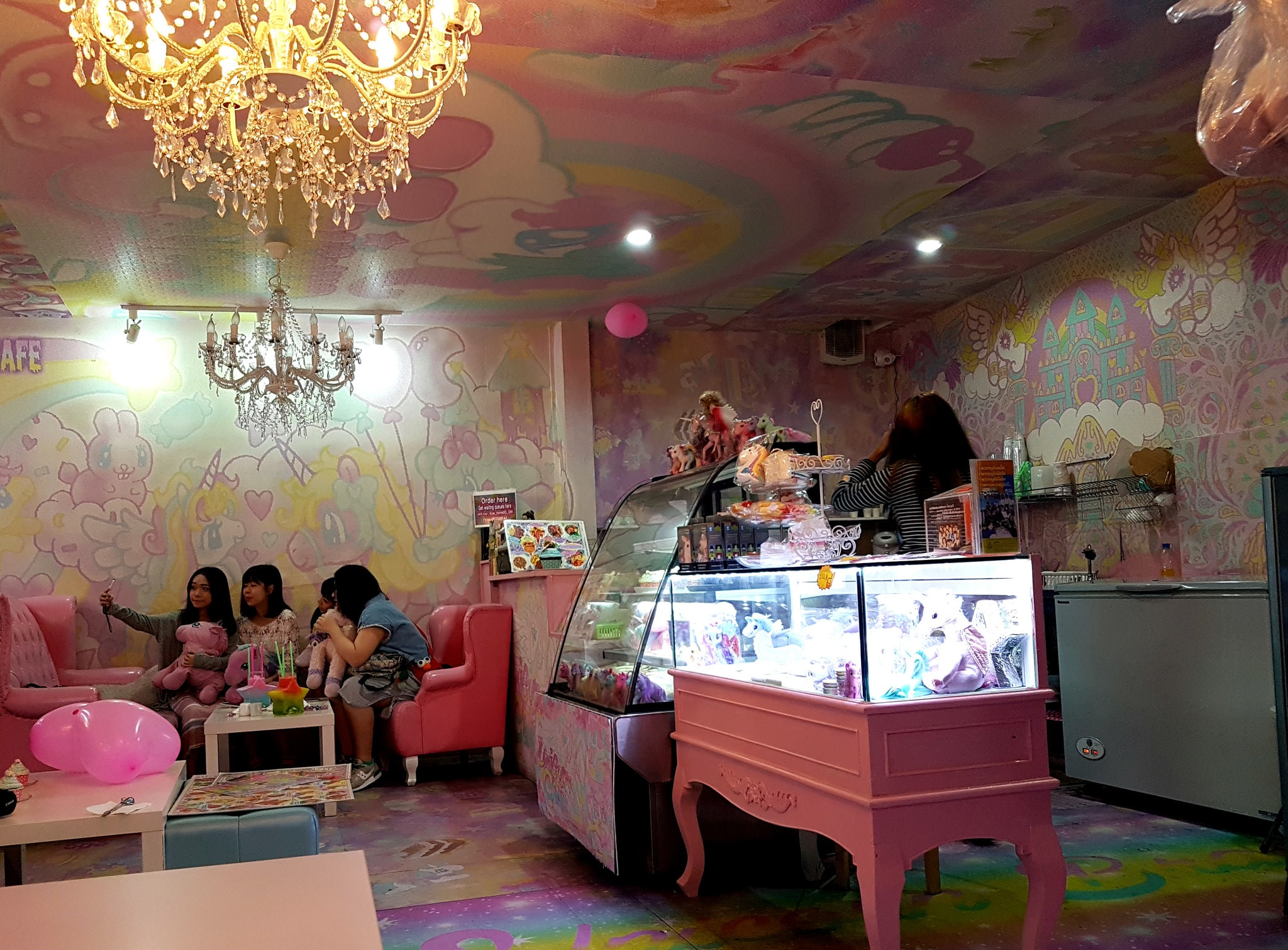 Bangkok's Unicorn Cafe