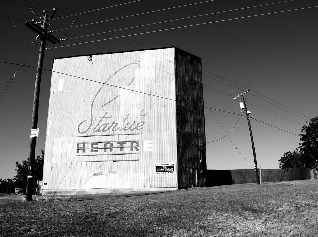 Starlite Drive-In Theater, Brenham, Texas | © Patrick Feller/Flickr