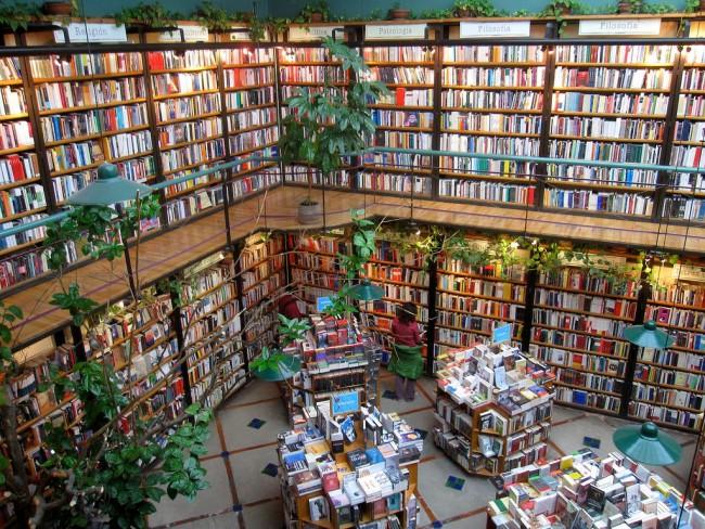 El Pendulo Bookstore  © Quinn Comendant/Flickr
