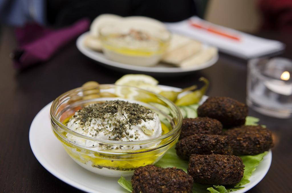 Food served in the Kasbah © Aktiv I Oslo.no/Flickr