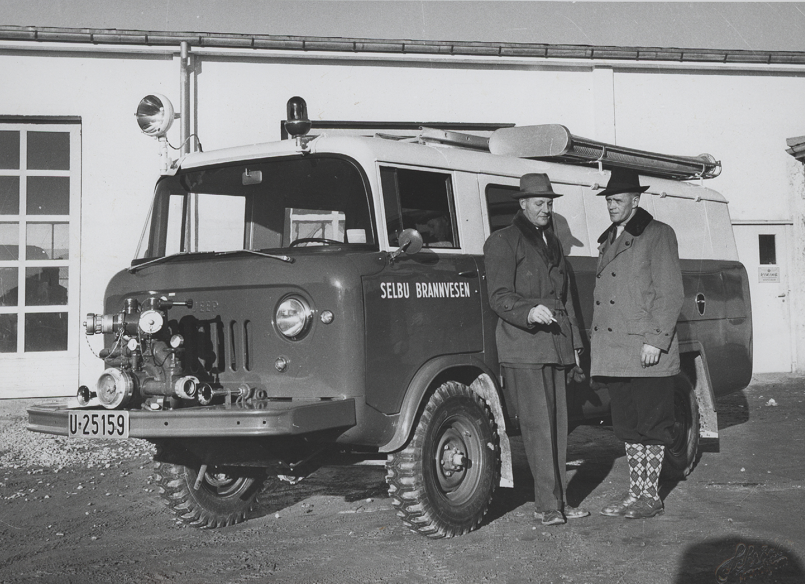 Od fire truck | © The Municipal Archives of Trondheim/Flickr