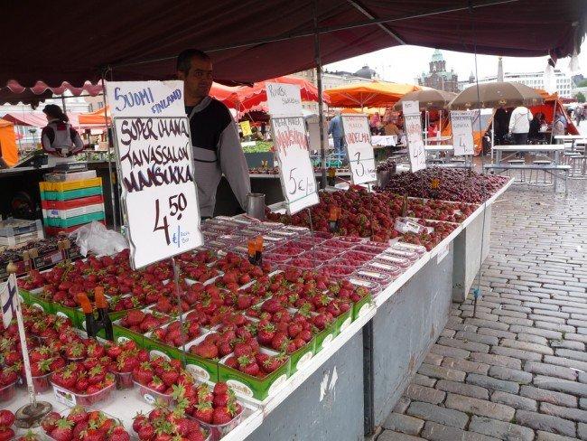 A Farmers Market in Finland | © Bev Sykes / Flickr