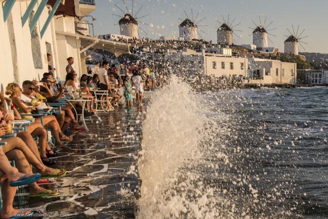 Bars in Little Venice, Mykonos   © David Baxendale / Flickr