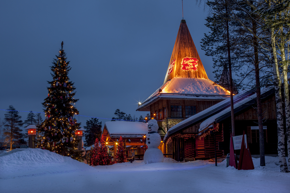 Top 10 things to do and see in lapland finland santa claus holiday village marcela novotnashutterstock solutioingenieria Gallery